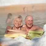 Enjoy a dip in the thermal pools at Takhini Hot Springs
