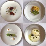 Some of the gorgeous dishes served during the 11 course tasting menu.