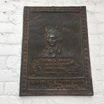 Plaque of Thomas Paine, Political Activist where he died