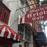 Historical Marie Crisis Cafe where Thomas Paine died