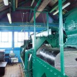 Inside the winding house.