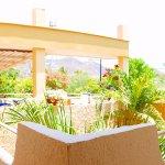 Terraza segundo piso - Habitaciones con aire acondicionado