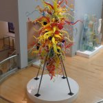 Dale Chihuly's magnificent glass sculpture