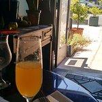 Mimosas at Sunday brunch!