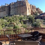 Anasazi room balcony