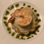 Shrimp pastry appetizer