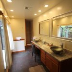 Junior Suite bathroom with walk-in shower