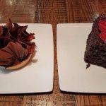 Chocolate Tart and Strawberry Chocolate cake