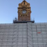 Upgrading works at Flinder Street Station
