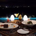 Dinner at SkyBar, Bar & Restaurant