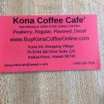 Kona Coffee Cafe照片