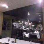 Trombino's service bar.....