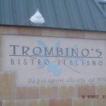 Trombino's sign.....