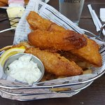 fish and chips. Very bad :(