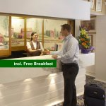 Breakfast is included with all our rooms