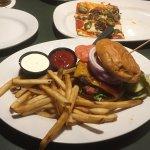 Green Mill, Winona, Minnesota - Western Mill Burger; S&P Flatbread