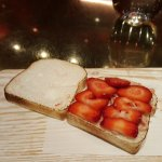 peanut butter and jelly sandwich -