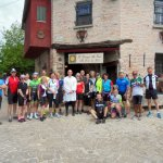 Cyclists converge on site that has produced the region's best cheeses for 700 years.
