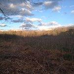Gorgeous plains near James River walk