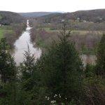 Tye River meets the James River