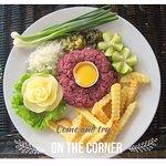 Steak tartare pur boeuf spécialité de la maison