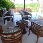 Couples Massage in our Villa