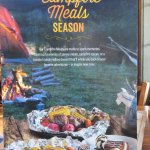 Campfire Season menus available for a few weeks in late spring
