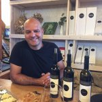 Nevo the winemaker at Nevo Winery. Outstanding reds!