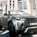 Our NEW Topless Range Rover Evoque - Grey, just arrived in the car fleet!