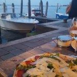 Pizza, avec vue sur la lagune