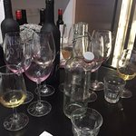 A very satisfying wine tasting completed