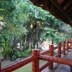 veranda view of triple room