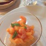 gamberetti e melone