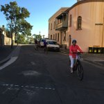 Biking the streets of Sydney