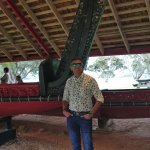 ceremonial war canoe