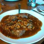 Steak tips Marsala