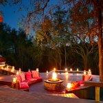 Safari Suite Deck & Boma Area
