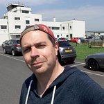 Main Entrance of Shoreham Airport - Plenty of parking