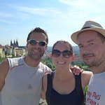 Summer came to Prague (guys from Florida) :-)