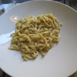 Pici with parmesan and black pepper