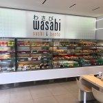 Photo of wasabi sushi and bento
