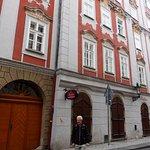 """фасад апартаментов """"Пушкин"""""""