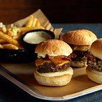 The Sliders three burgers