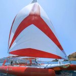 Catamaran for 12+ guests for day charter near St-Tropez and Cannes
