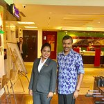 With Shifra, Duty Manager