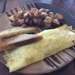 Yummy omelet!