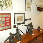 The display of Japanese occupation at the mini-museum