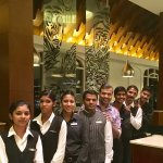 With the Service Brigade at Latest Recipe Restaurant