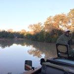 Early morning drive. Saw wild dog killing a kudu.