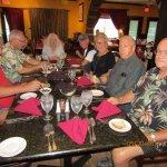 John, Dean, Valerie, Vicki, Dick, Gracie, Jon & Tom...celebration